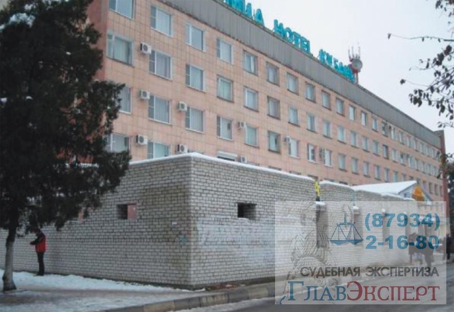 Гостиница «Кубань» г.Невинномысск