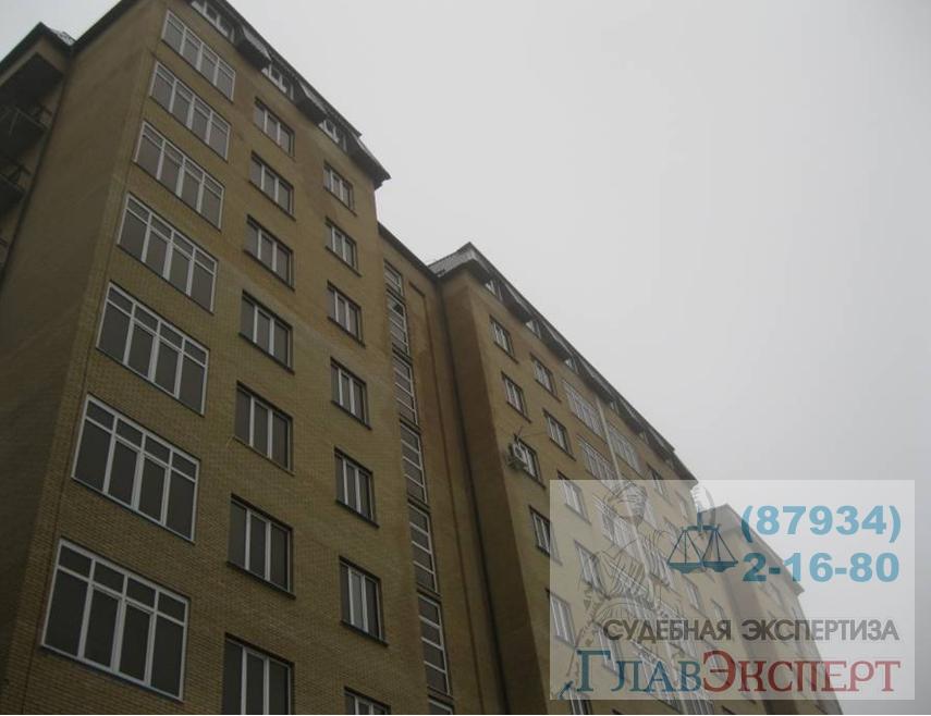 Многоэтажный жилой дом г.Ессентуки